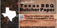 Texas Butcher Paper – Austin, Texas Hill Country BBQ Bar b Que for Brisket